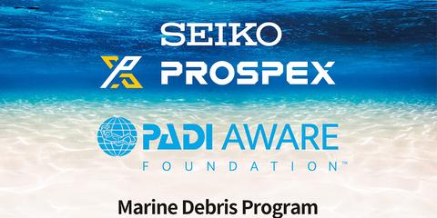 Seiko объединяет усилия с PADI и PADI AWARE Foundation, чтобы защитить мир океана.