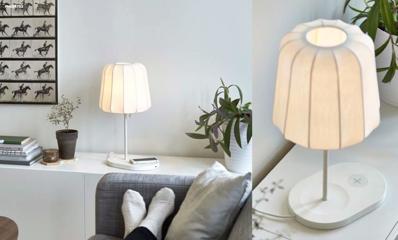 Компания IKEA выпустила на рынок мебель с встроенной опцией беспроводной зарядки