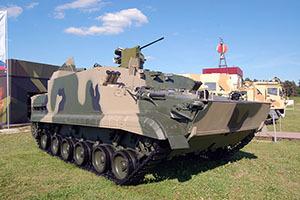 Бронетранспортер БТ-3Ф получил новый боевой модуль