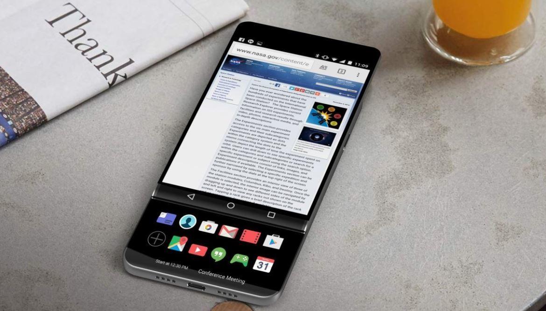 У нового LG V30 будет стеклянная задняя панель и беспроводная зарядка