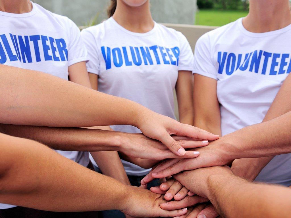 Волонтёры