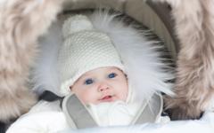 Как защитить грудничка от холода на улице.
