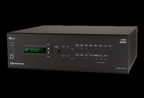 Презентационные системы Crestron DMPS3-4K-300-C и DMPS3-4K-200-C 3-Series 4K60 DigitalMedia™