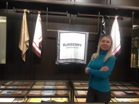 мастер-класс по Батику в бутике BURBERRY