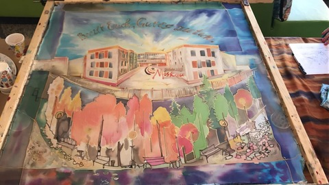Мастер-класс на Фестивале доктора Гааза в Немецкой школе при Посольстве Германии в Москве