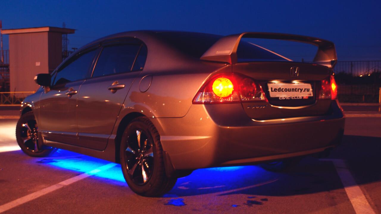 Светодиодная лента в авто