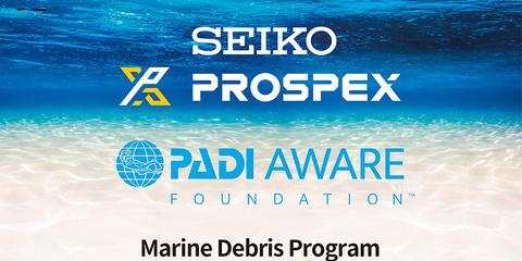 Seiko объединяет усилия с PADI и PADI AWARE Foundation, чтобы защитить мир океана