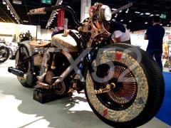 Уникальный мотоцикл