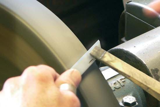 Заточка садовых ножей TINA