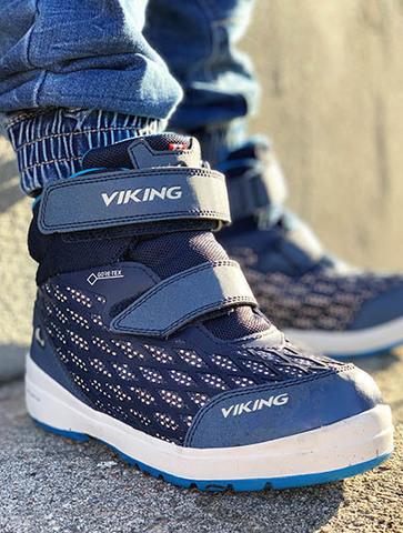 Как носить мембранную обувь Viking?