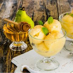 Лимонный сорбет с медом