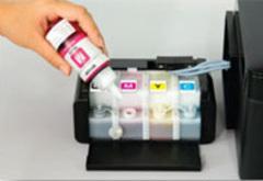 Сравнение цветной фабрики печати Epson с альтернативными решениями: СНПЧ и ДЗК