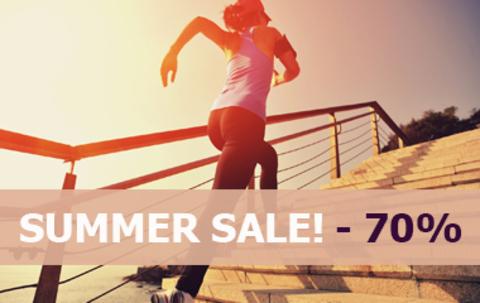 #SUMMERSALE: ЛЕТНЯЯ РАСПРОДАЖА! СКИДКИ ДО 70%!