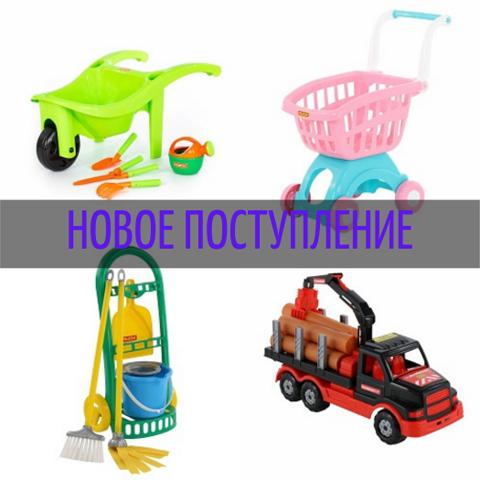 №66 Новое поступление игрушек Полесье