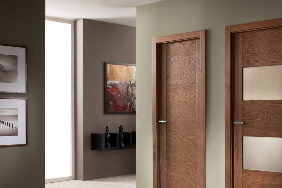 Как выбрать двери из экошпона