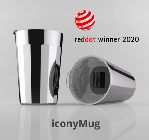 iconyMug was awarded with Red Dot  Award 2020