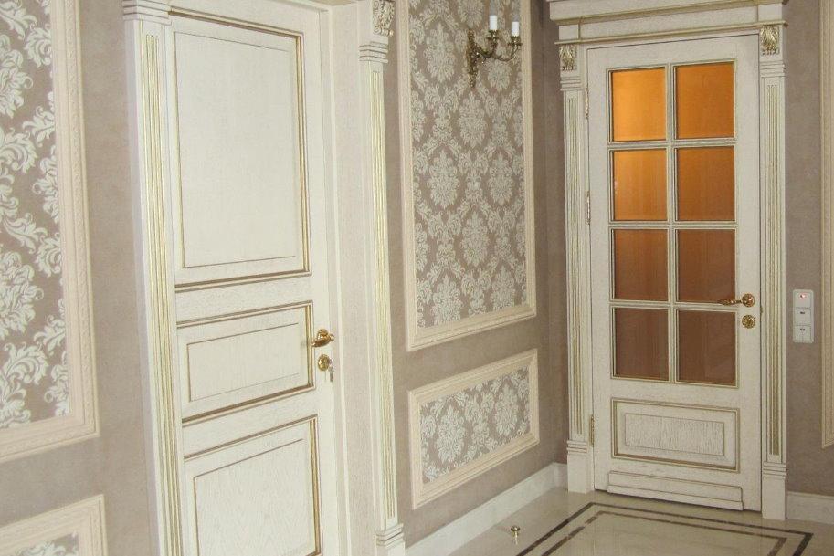 Уход за межкомнатными дверями в классическом стиле