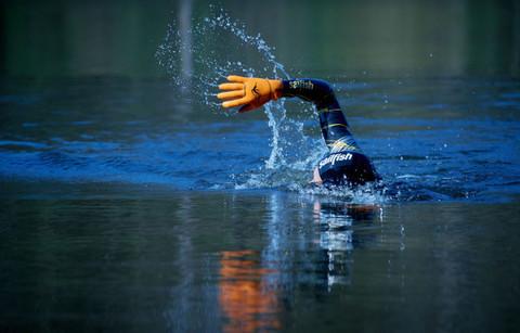В холодной воде