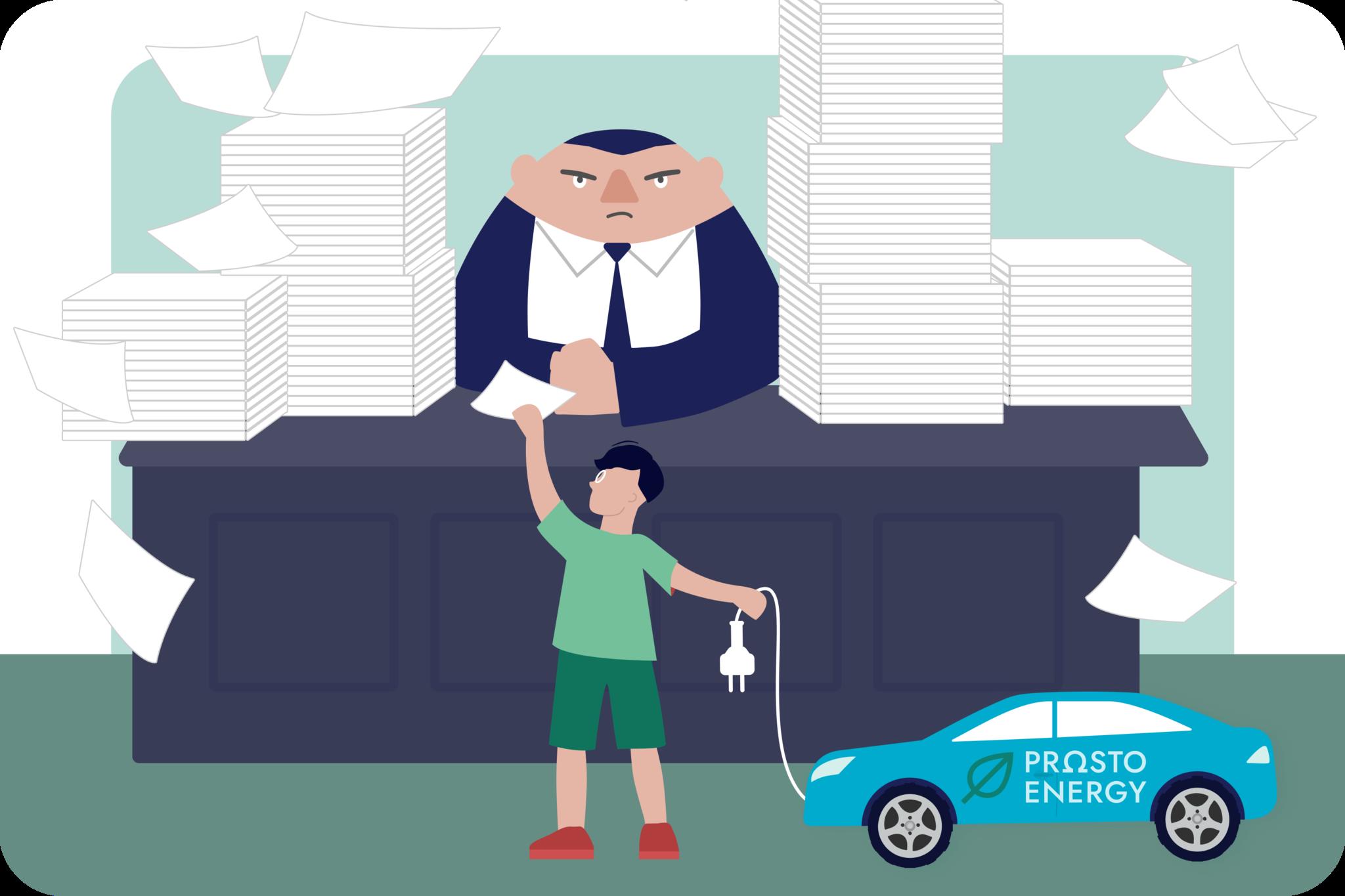 Установка зарядной станции для электромобиля: бюрократические проблемы и как их решить.