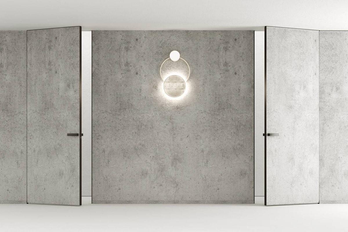 Скрытые двери с чёрной алюминиевой кромкой – теперь в наличии на нашем складе