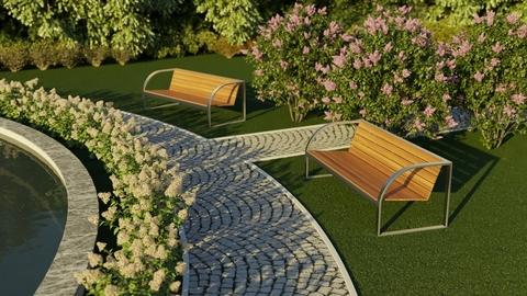 Ландшафтный дизайн на многоуровневых территориях