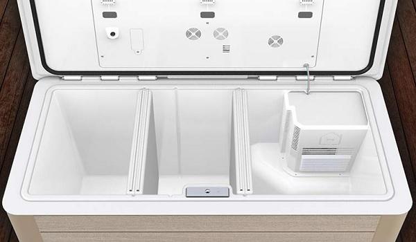 Переносной мини-холодильник тестирует американский продуктовый ритейлер