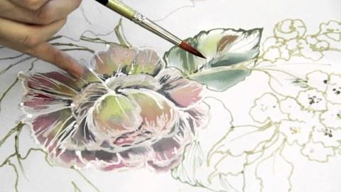 Как рисуют батик - 2020-06-24