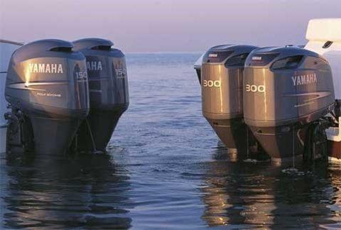 Самые популярные лодочные моторы Yamaha