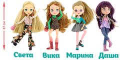 Шарнирные куклы Модный шопинг