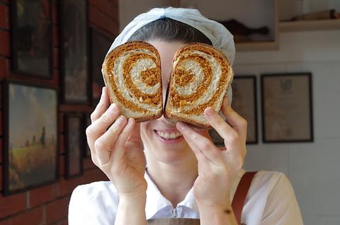 Хлеб с паприкой на закваске из пекарни