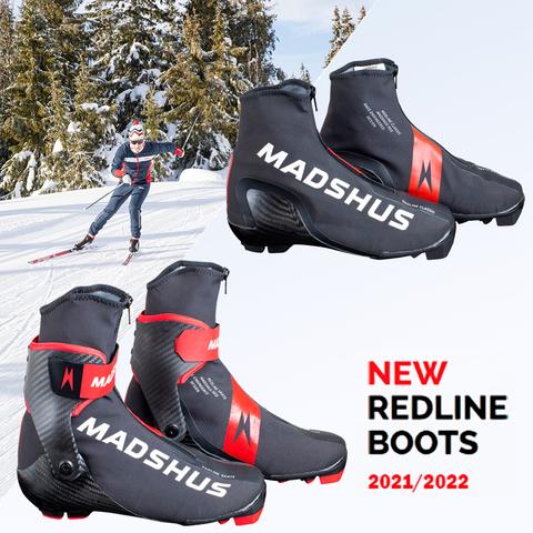 ОТКРЫТ ПРЕДЗАКАЗ НА ЛЫЖНЫЕ БОТИНКИ MADSHUS REDLINE Skate, Skiathlon, Classic 2021/2022