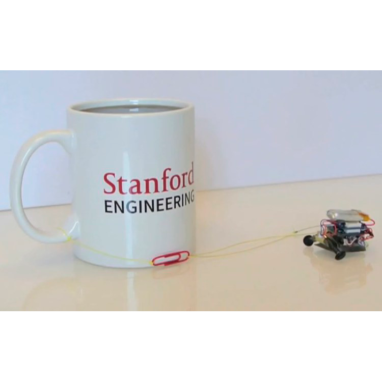 Созданы миниатюрные роботы-силачи