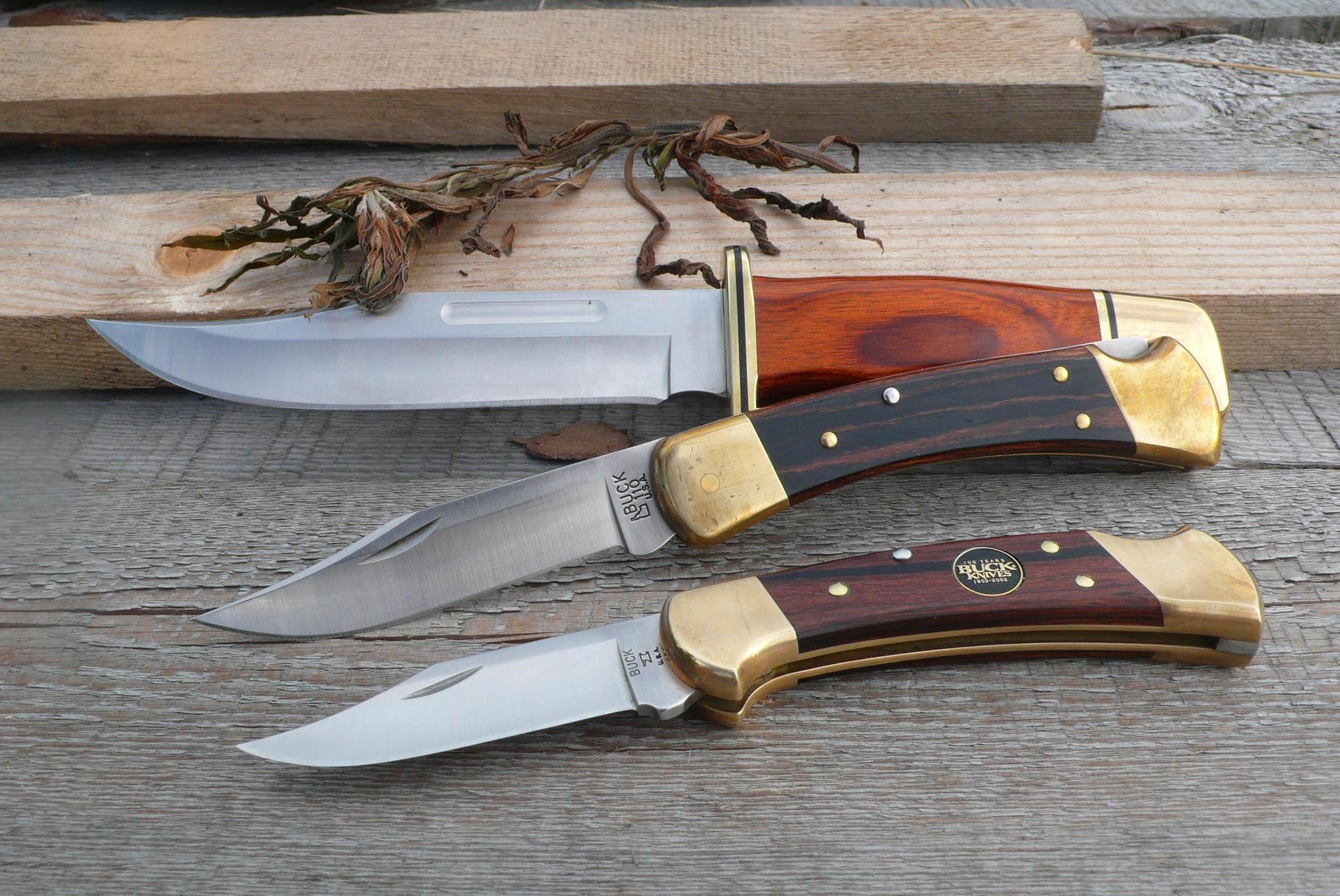 Модельный ряд компании BUCK Knives