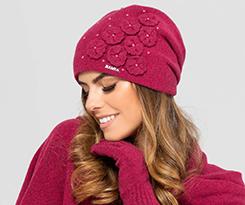 Женские комплекты: шапки и шарфы на зиму