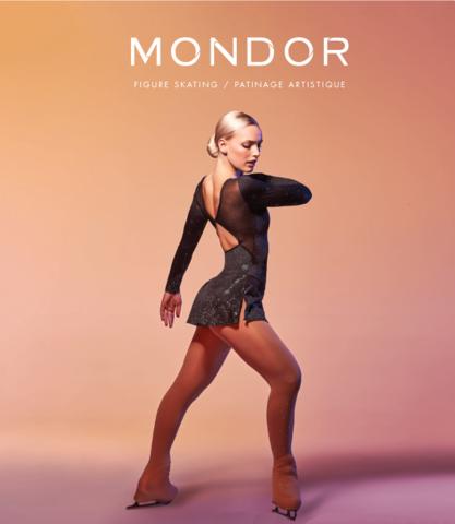 Таблица размеров колгот Mondor (Канада)