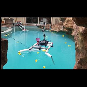 Робот-уборщик очистит акваторию от мусора