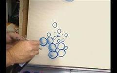 Урок аэрографии:  текстура пузыри
