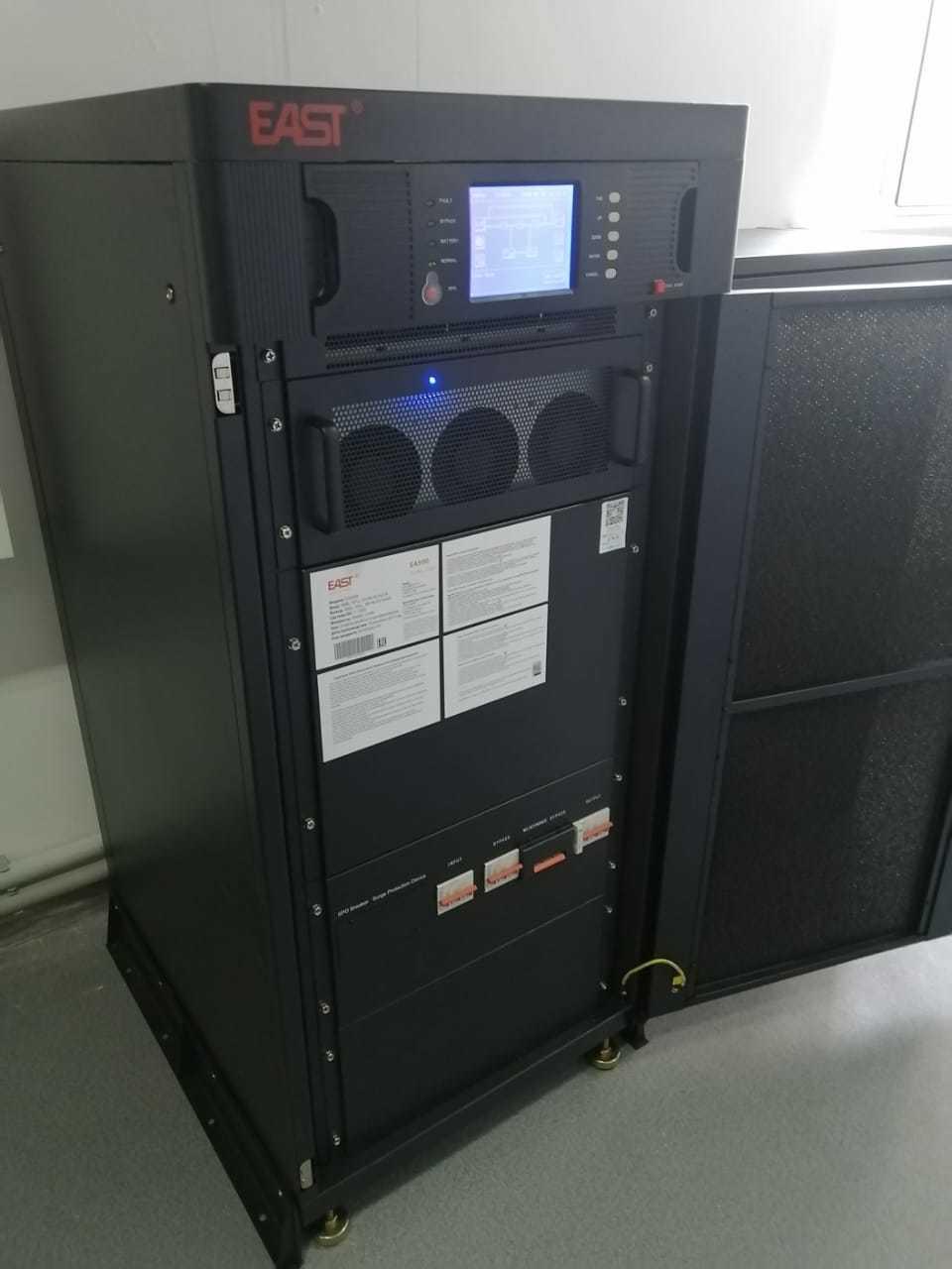 Источник бесперебойного питания для резерва автоматики томографа в 7-й городской больнице.
