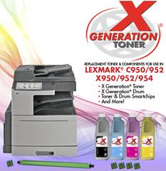 Новинки от Uninet Imaging для Lexmark X950, X952, X954