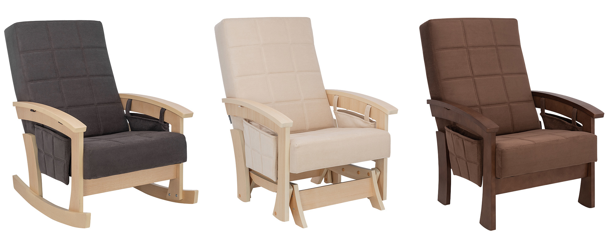 Новинки – скандинавские кресла и качалки!