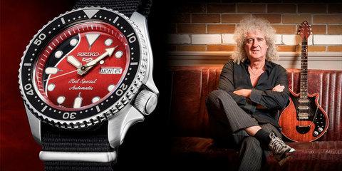 Seiko 5 Sports отдает дань уважения легендарной гитаре Брайана Мэя «Red Special»
