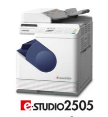 Компания Toshiba объявляет о начале продаж нового высокотехнологичного  монохромного МФУ формата А3 в ультракомпактном корпусе e-STUDIO2505.