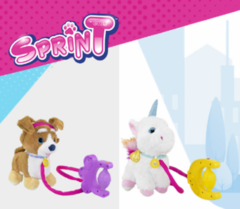 SprinT Интерактивная игрушка Спринт Корги и Единорог