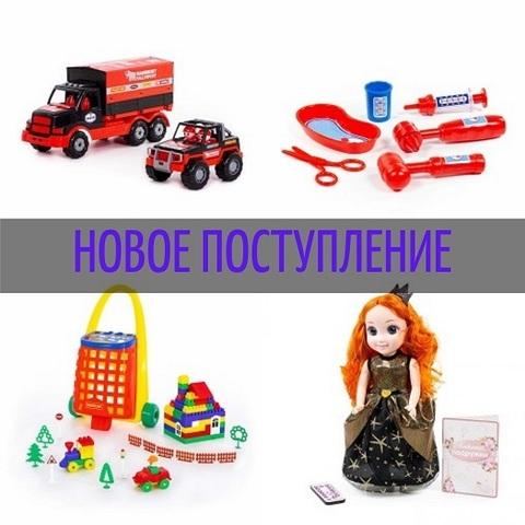 №82 Новое поступление игрушек Полесье