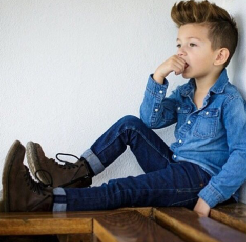 Базовый гардероб для мальчика