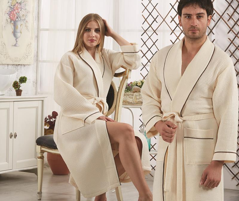 Вафельные халаты для бани - теперь у нас!