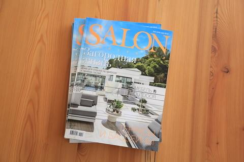 Interview with architect Sergey Fedotov in SALON interior magazine