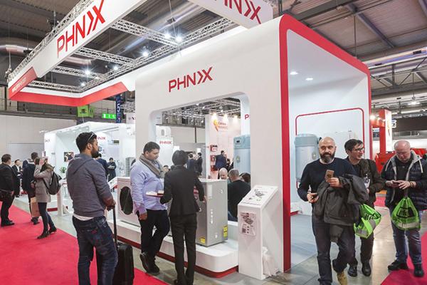 Китайская PHNIX покорила европейскую выставку ISH