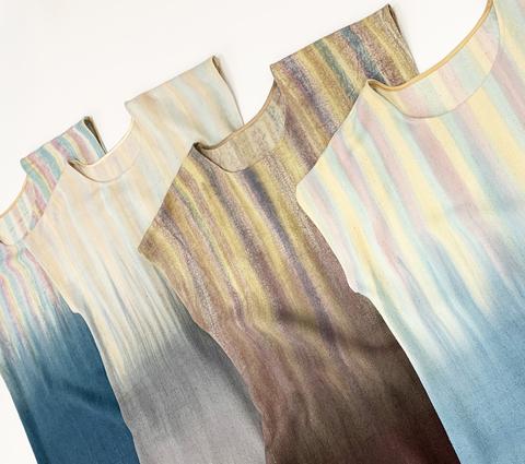 Новая коллекция летних платьев-футболок из дикого шелка