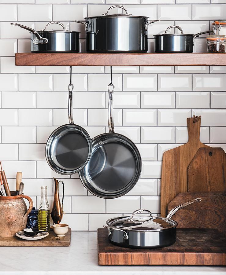 Профессиональная посуда от итальянского бренда Hestan